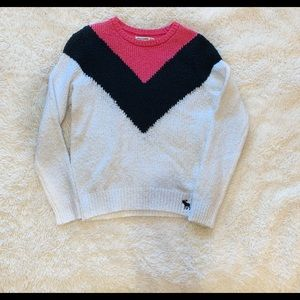 Girls Abercrombie kids pullover sweater 11 /12 NWT